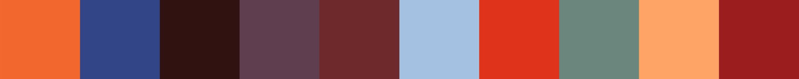 133 Theatra Color Palette