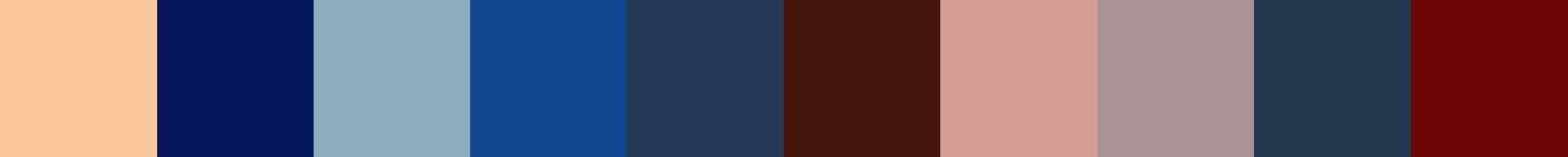 147 Meracora Color Palette