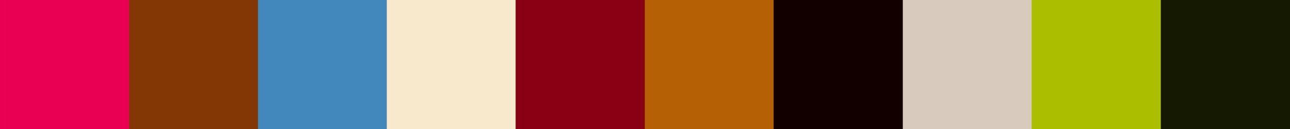 149 Nioupola Color Palette