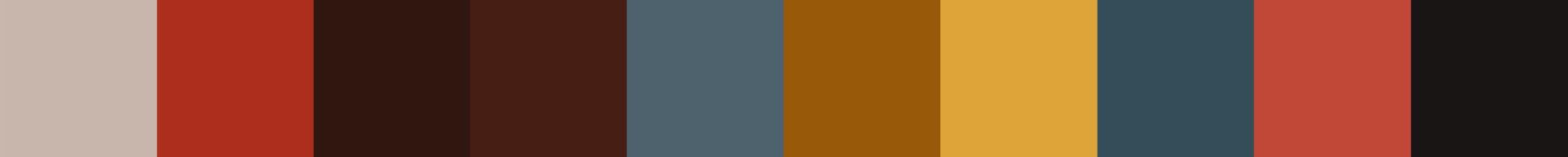 151 Qefera Color Palette