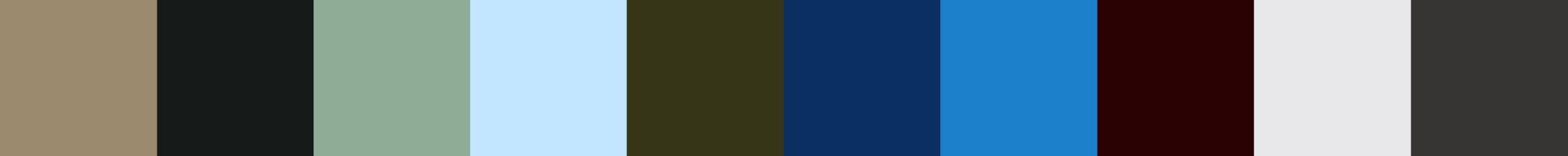 152 Basivata Color Palette