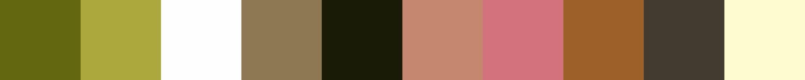 155 Kiebaco Color Palette