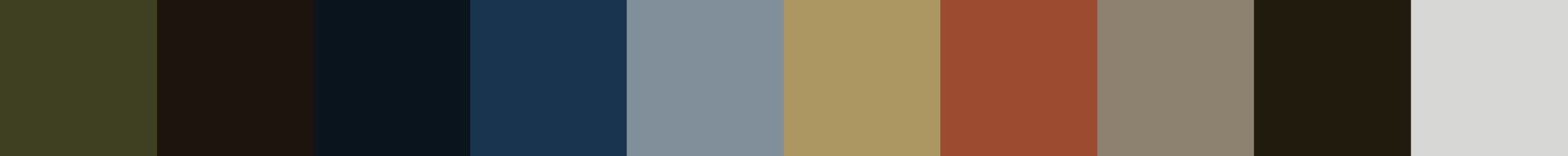 166 Yxalinia Color Palette