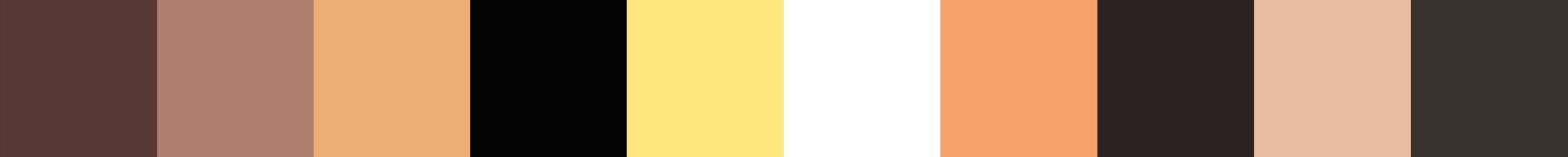 168 Gradavita Color Palette