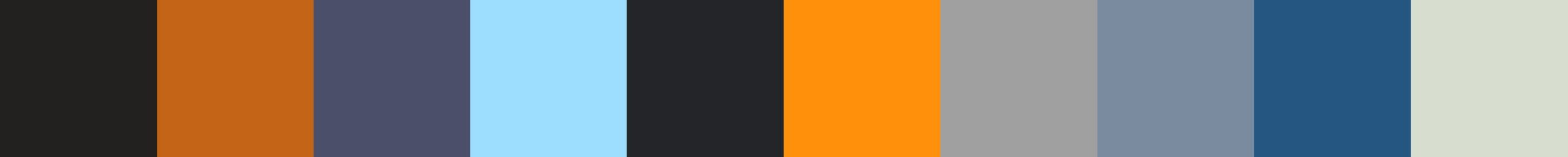 169 Periviala Color Palette