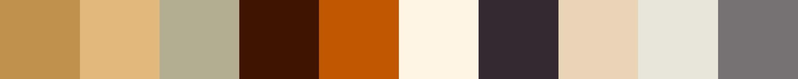 178 Prefora Color Palette