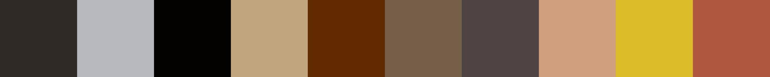 191 Cubera Color Palette
