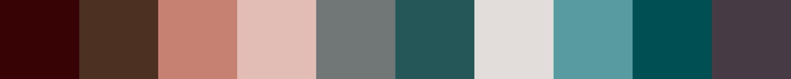 201 Feathonia Color Palette
