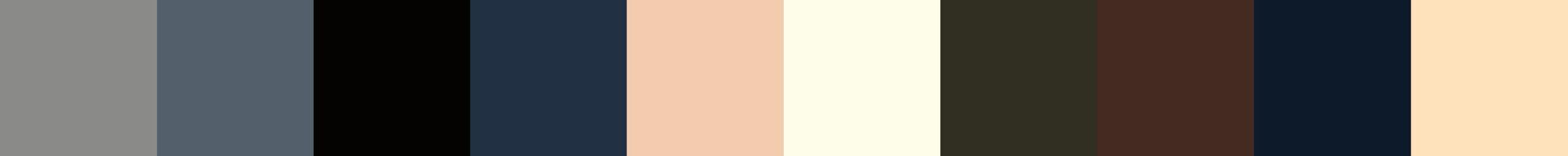209 Neropadia Color Palette