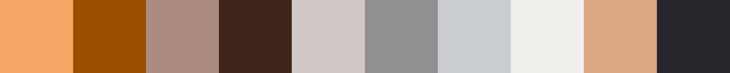 212 Ribadania Color Palette