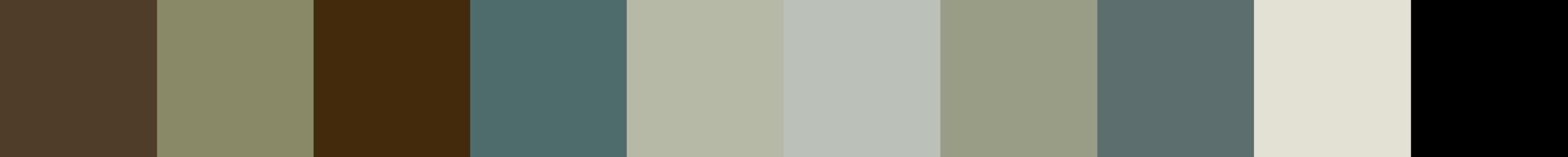 235 Amygdalea Color Palette