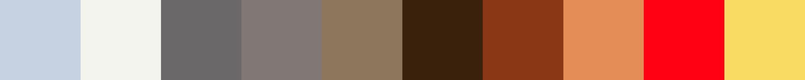 263 Vodehoria Color Palette
