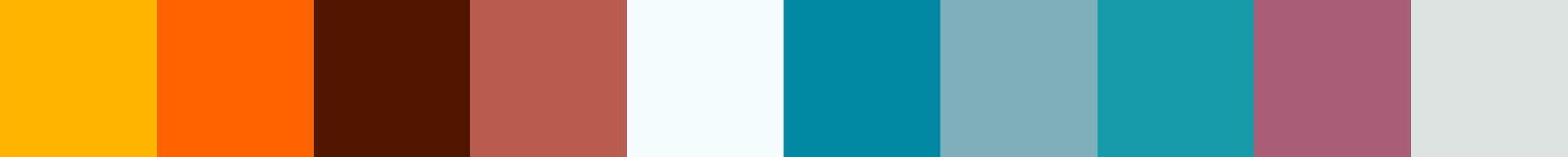 265 Coquana Color Palette