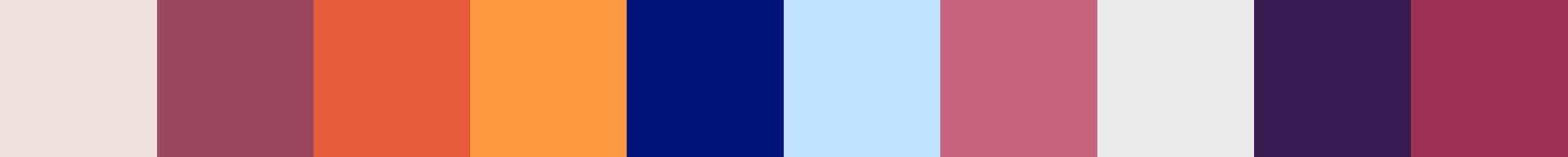 268 Vefadia Color Palette