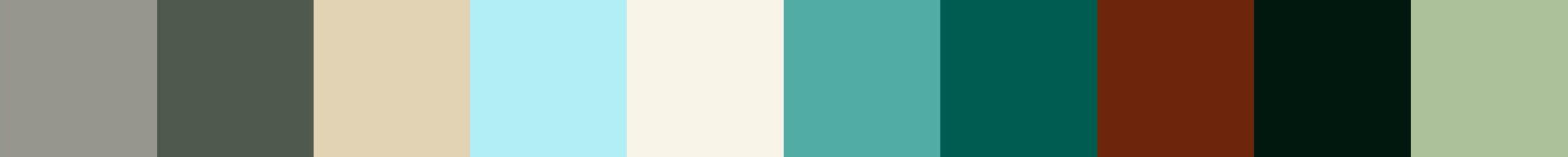 269 Hajadoto Color Palette