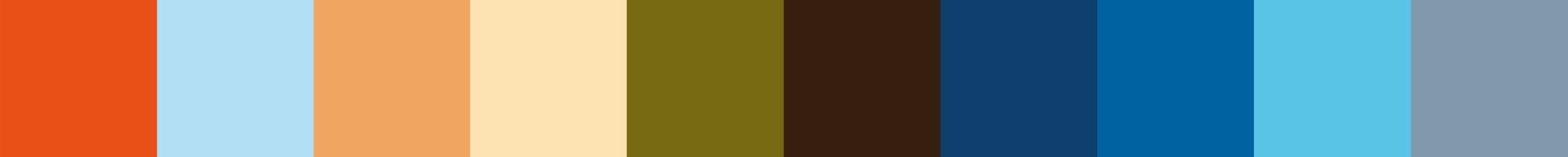 279 Ohedomia Color Palette