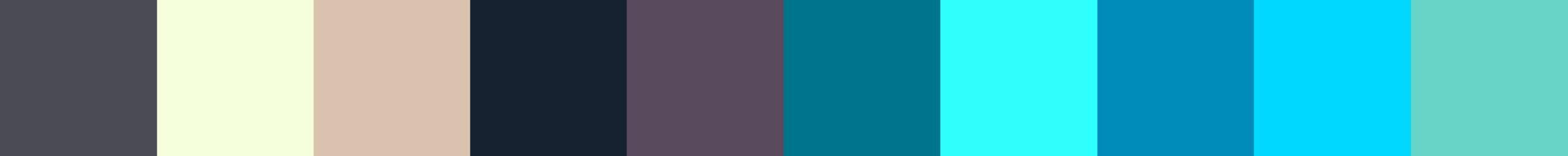 282 Thaltia Color Palette