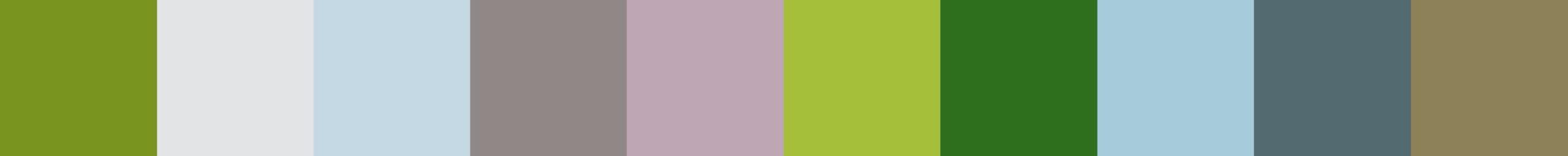 287 Beciazola Color Palette