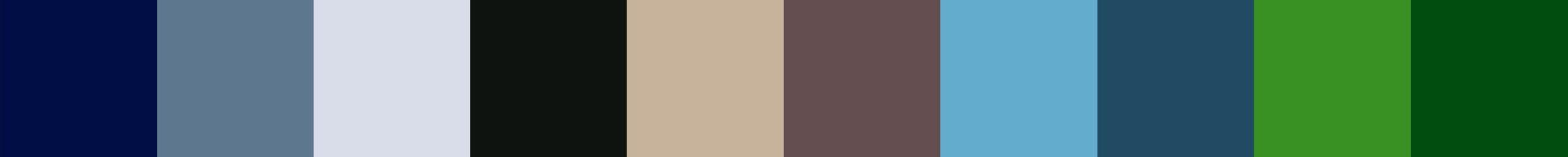 37 Roupoo Color Palette
