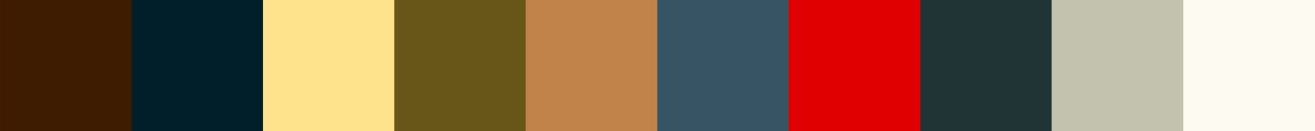 378 Kriveliana Color Palette