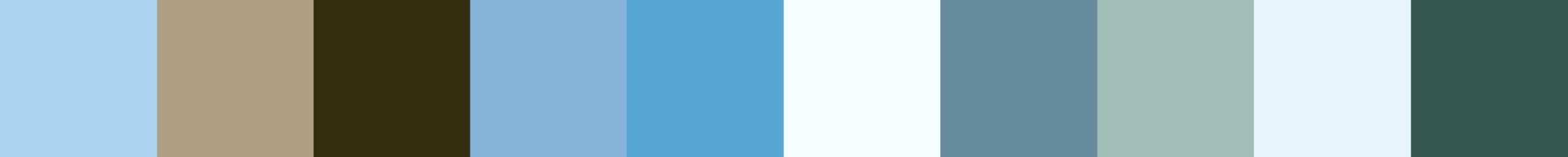 432 Vistola Color Palette