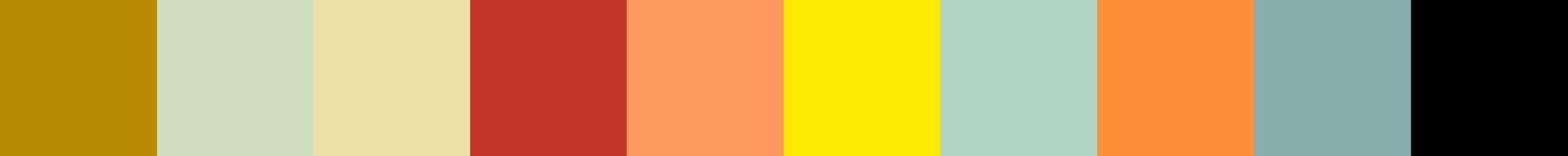 435 Zistae Color Palette
