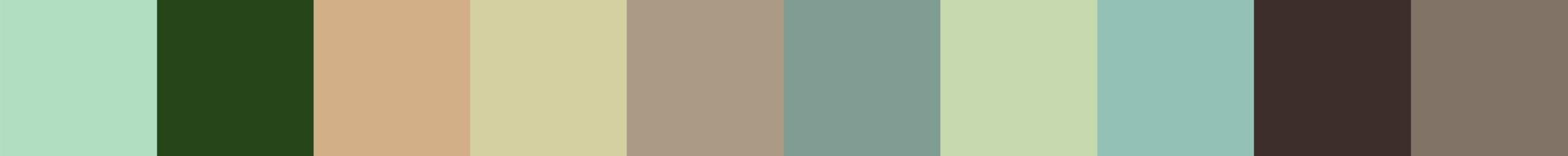 441 Forabodia Color Palette