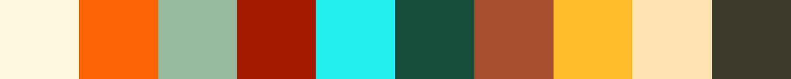 454 Roniasa Color Palette
