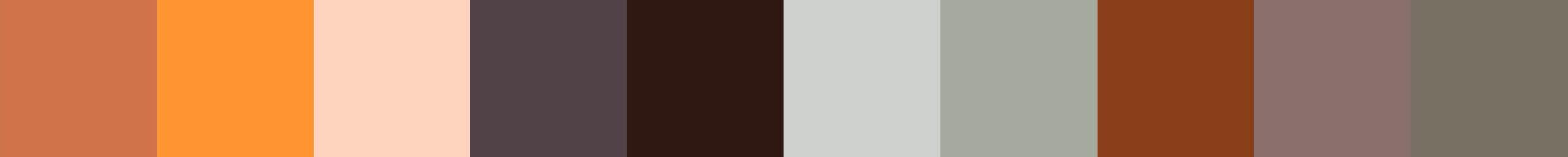 463 Volibia Color Palette