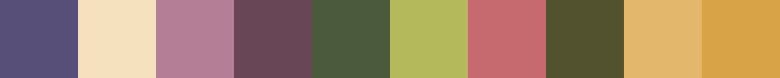 506 Doucrana Color Palette