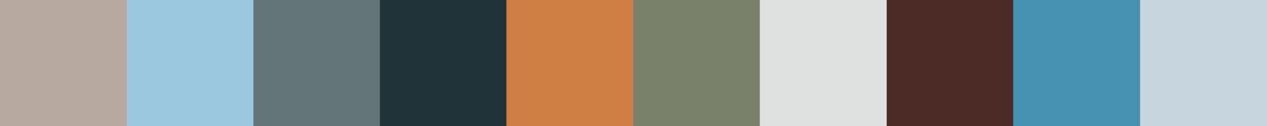 528 Parca Color Palette