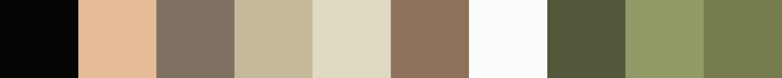 534 Castalia Color Palette