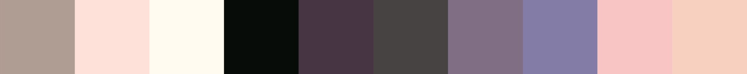 539 Astraia Color Palette