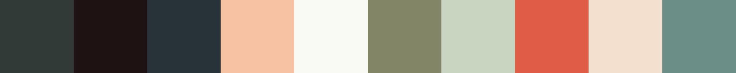 540 Sybil Color Palette