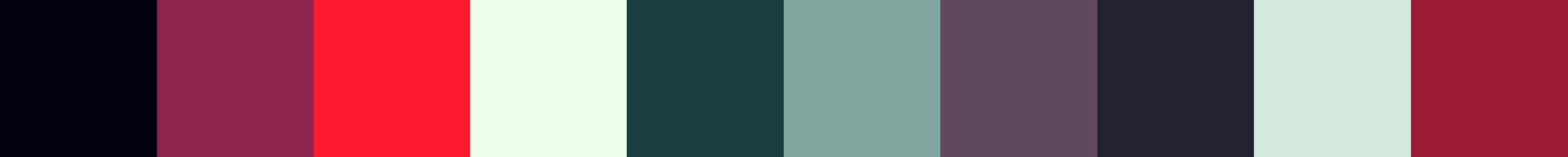 560 Jinkx Color Palette