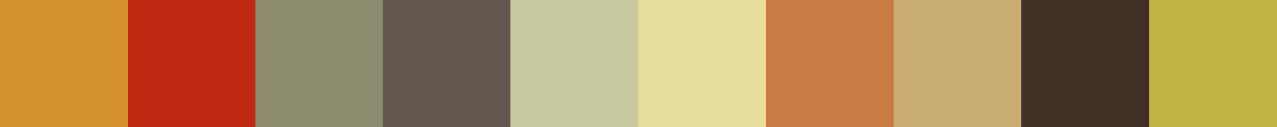 567 Ophelia Color Palette