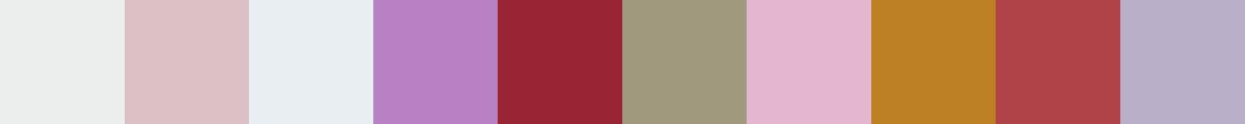 589 Olinda Color Palette