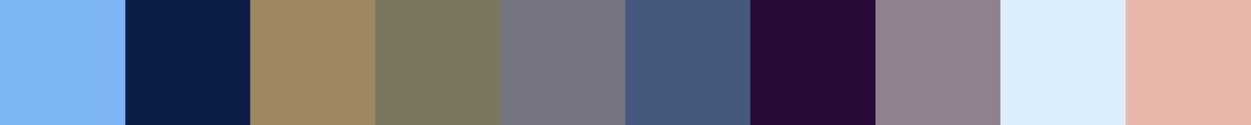 594 Elekteria Color Palette
