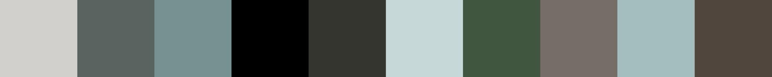 612 Zederbia Color Palette