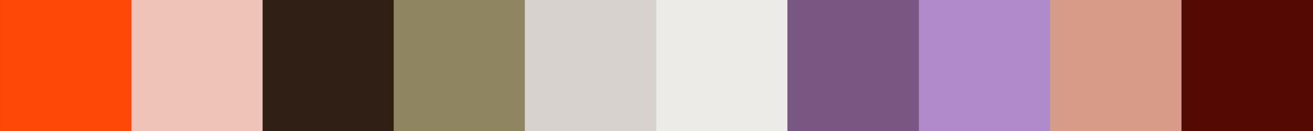 661 Deinaria Color Palette