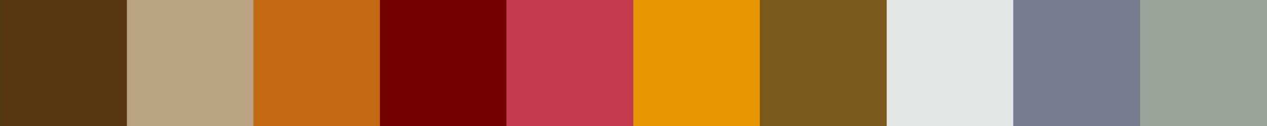 678 Motesla Color Palette