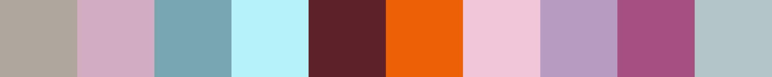 692 Astafouba Color Palette