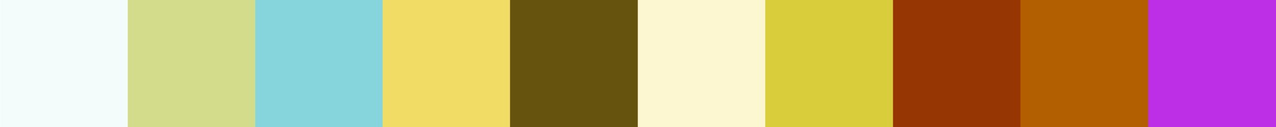 701 Iokamoza Color Palette