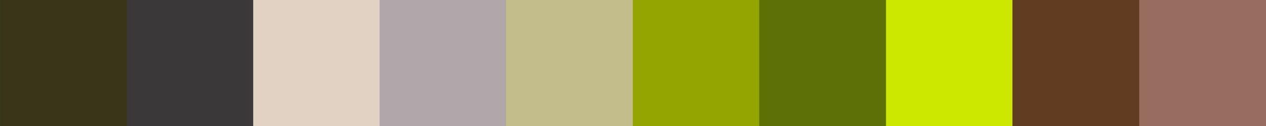 710 Wertas Color Palette