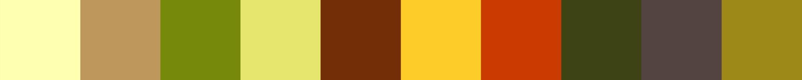 721 Nosterala Color Palette