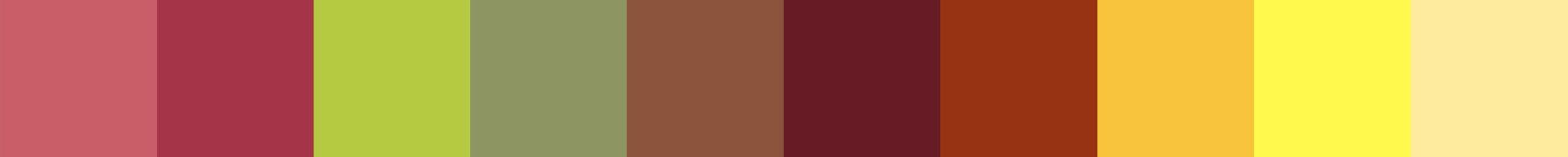 73 Hilouara Color Palette