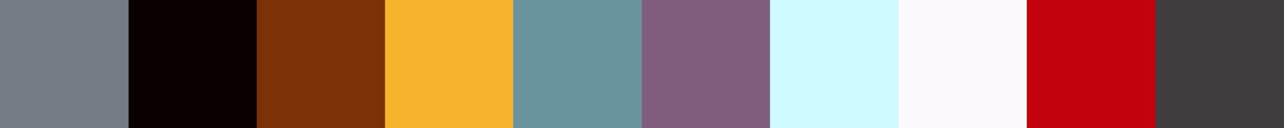 762 Medralia Color Palette