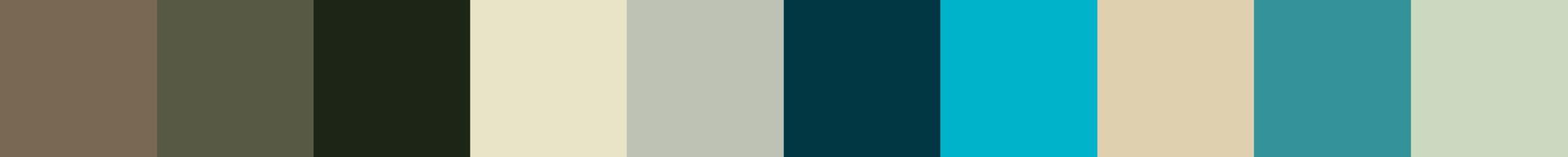 773 Hacokita Color Palette
