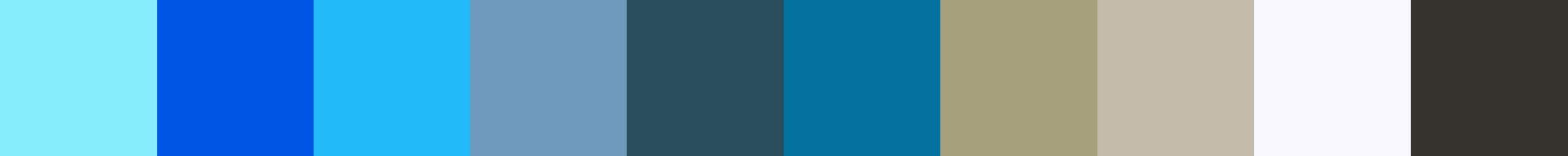79 Mahavia Color Palette