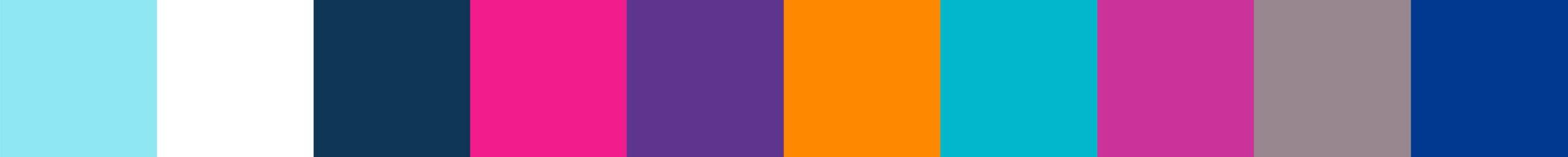 800 Mirafilia Color Palette